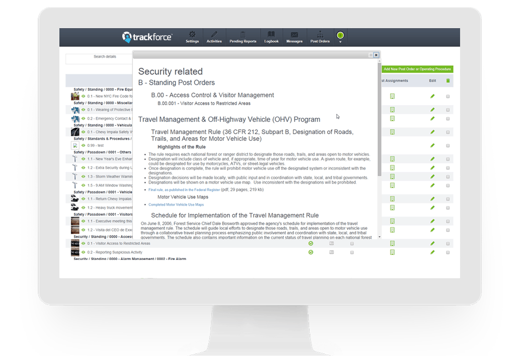trackforce a better stronger more efficient security workforce