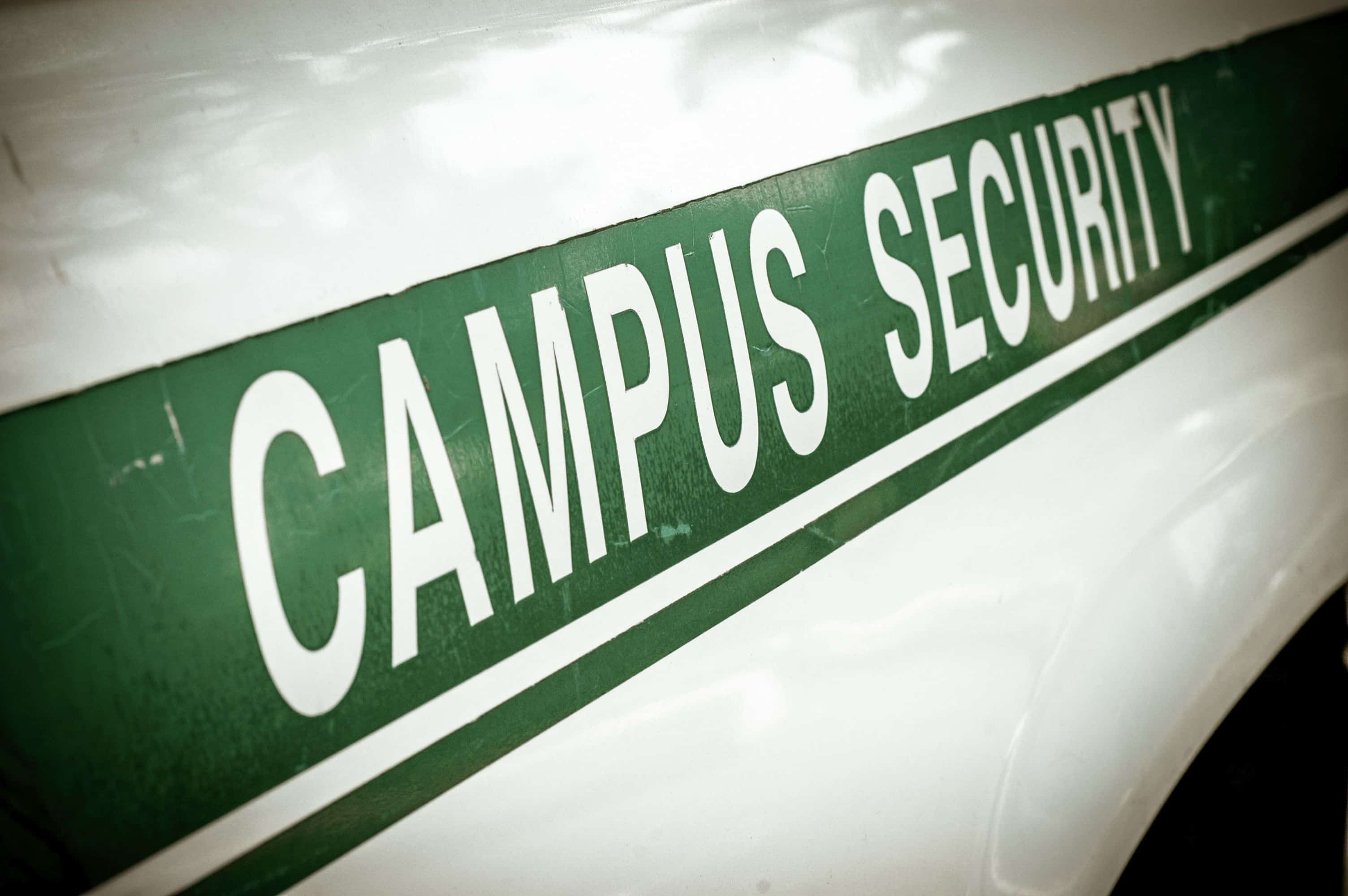 Campus Security Vehicle