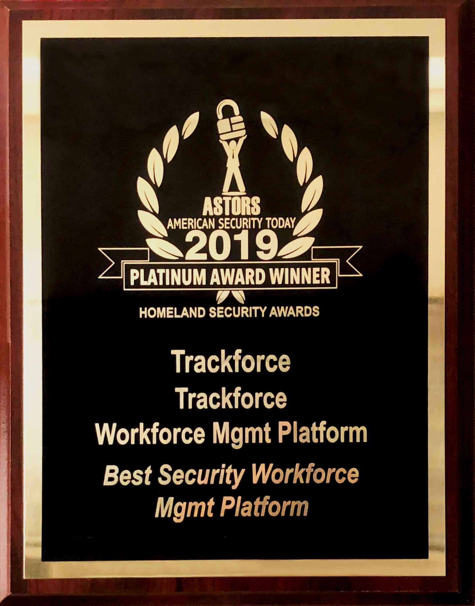 Trackforce Valiant Beats Out Competition for Coveted ASTORS Award