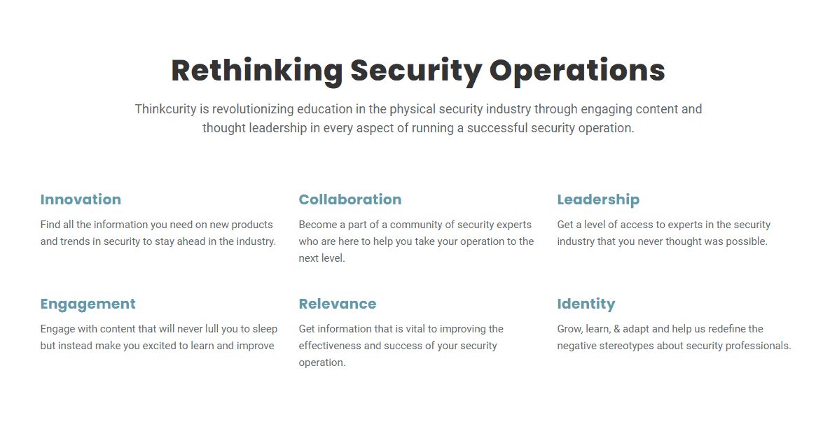About Thinkcurity