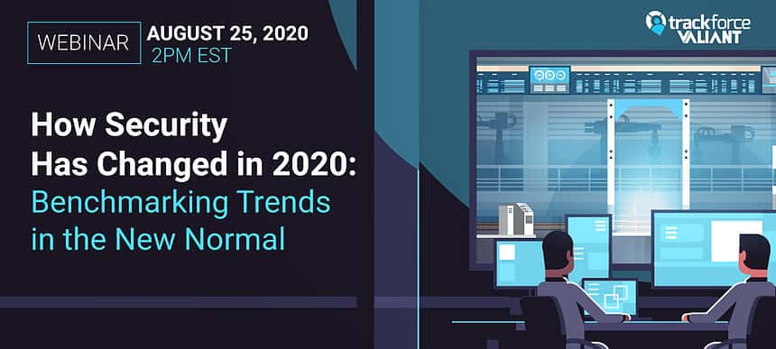 email banner for webinar: How Security Has Changed in 2020: Benchmarking Trends in the New Normal